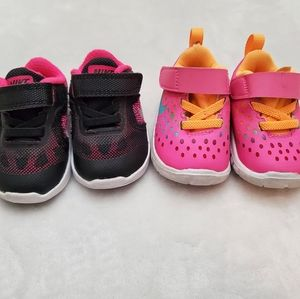 2 Pairs Nike Shoes